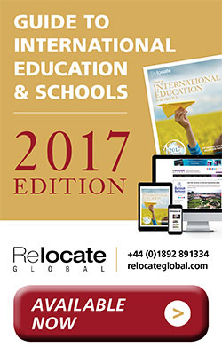 Relocate global guide to International Education & Schools 2017 edition