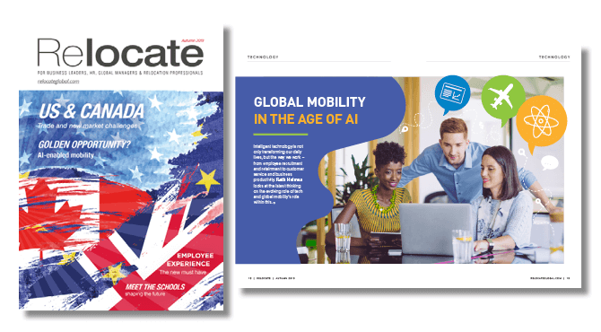 Relocate Magazine Autumn issue 2019 out now
