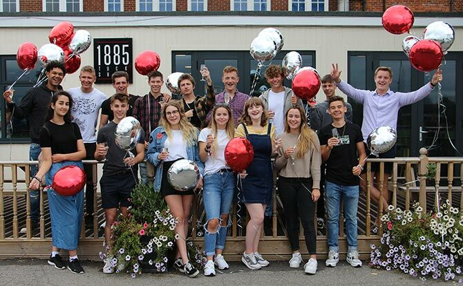 Kent College Canterbury students celebrate 2018 A-level success