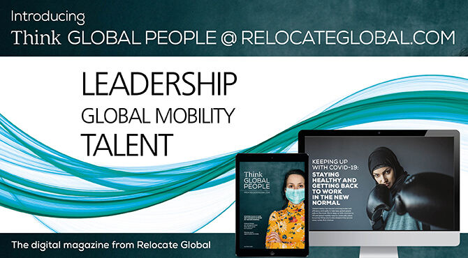 Think Global People Autumn 2020 issue out now