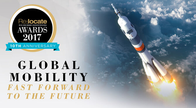 Relocate global Awards 2017 10th anniversary global mobility fast forward to the future