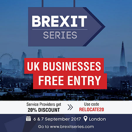 Brexit Series event - London - September 2017 - 20% discount.