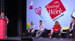 Image from CIPD Festival of Work panel session
