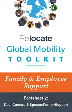 Global Mobility Toolkit: Factsheet: Family/Employee Support: Dual Career Graphic