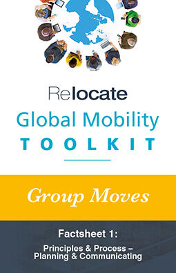 Global Mobility Toolkit: Group Moves: FS1: Principles Graphic