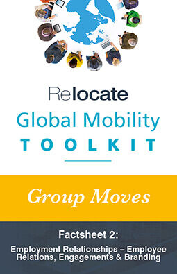 Global Mobility Toolkit: Group Moves: Employment Relationships graphic