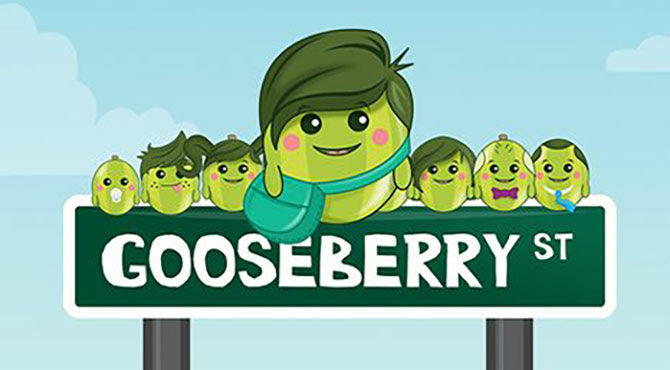 Fly to Gooseberry Planet and keep your child safe online