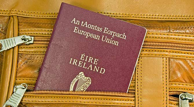 Brexit prompts British rush for Irish passports
