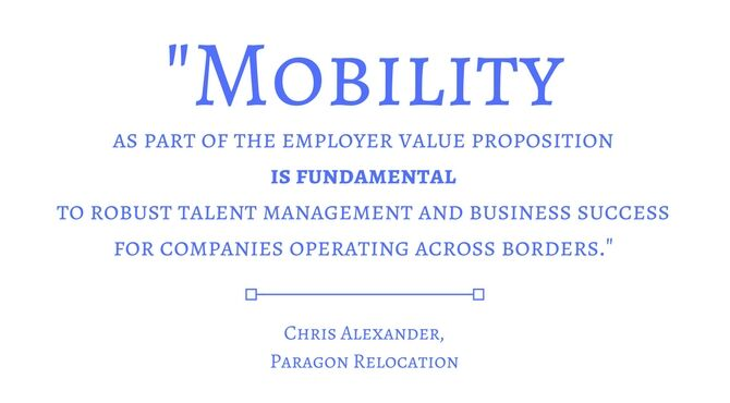 Paragon Relocation quote about aligning mobility with talent management