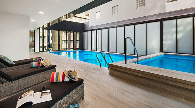 Quest Apartments Swimming Pool