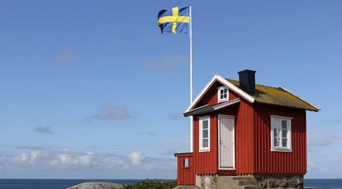 Sweden red house