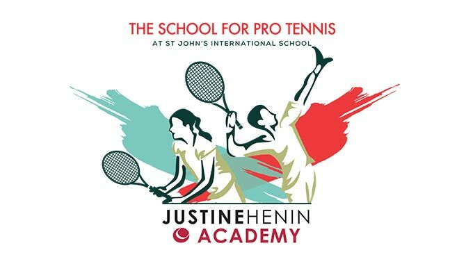 St Johns International School and Justine Henin Academy announce new pro tennis school