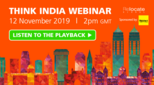 Think India Webinar Listen to the Playback