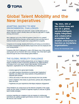 Global Talent Mobility and the New Imperatives