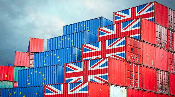 UK trade containers
