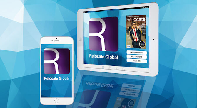 The Relocate Global App is out now