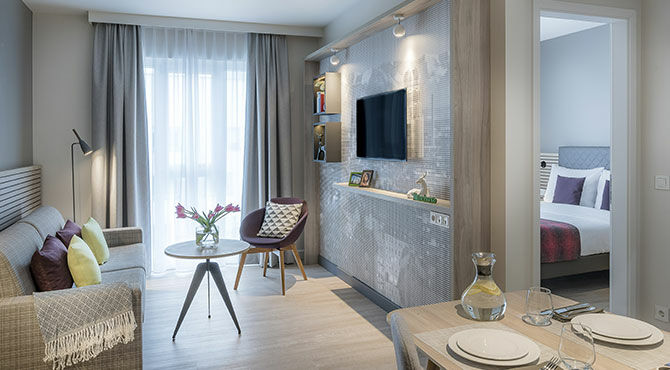 The Ascott Limited serviced apartment