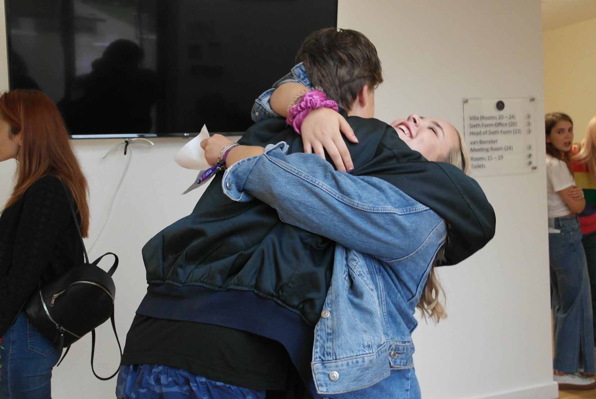 d'Overbroeck students celebrate A-level results