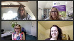 Education & Family Support webinar - screen grab