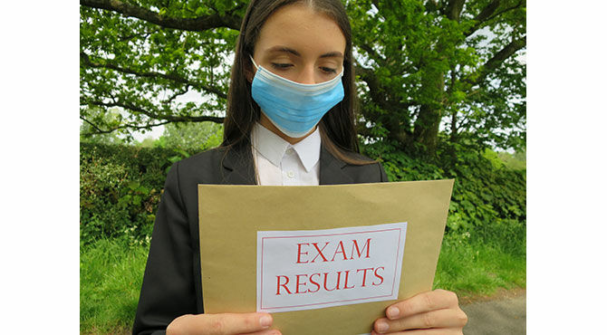 Exam results 2020