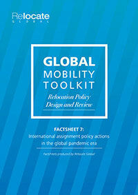 Factsheet 7: Relocation Policy Design and Review: International assignment policy actions in the global pandemic era