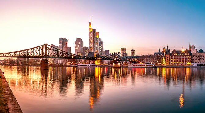 Companies have been drawn to Frankfurt in the wake of Brexit negotiations