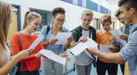 Predictions for this year's GCSE results reveal mixed fortunes, with a slight increase in uptake, but criticism of the tougher exams