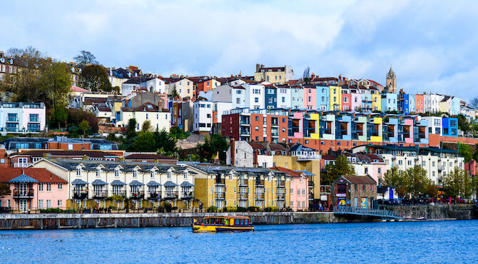 Bristol tops property searches outside London, according to new research from Rightmove.