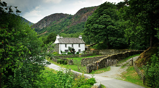 A remote house in the Lake District