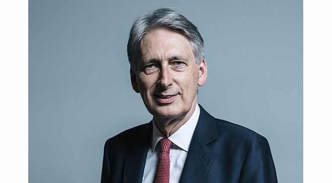 Philip Hammond, UK Chancellor of the Exchequer in a official UK parliament photo