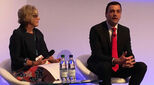 Fiona Murchie and Scott Newman of State Street Bank at the London Global Expansion Summit